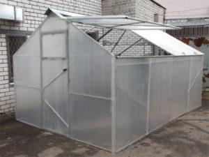 Как построить теплицу Кабриолет со съемной крышей