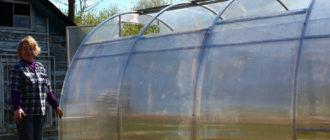 теплица с раздвижной крышей и боками